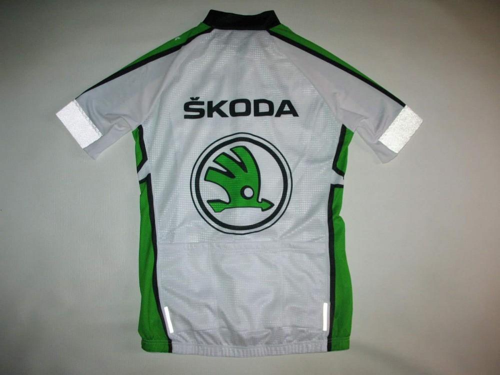 Веломайка SKODA  cycling jersey (размер M/S) - 3