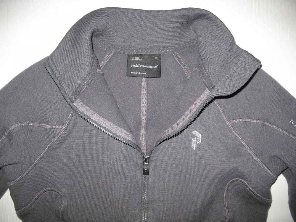 Кофта PEAK PERFOMANCE sup wool jacket lady (размер 36/XS) - 3