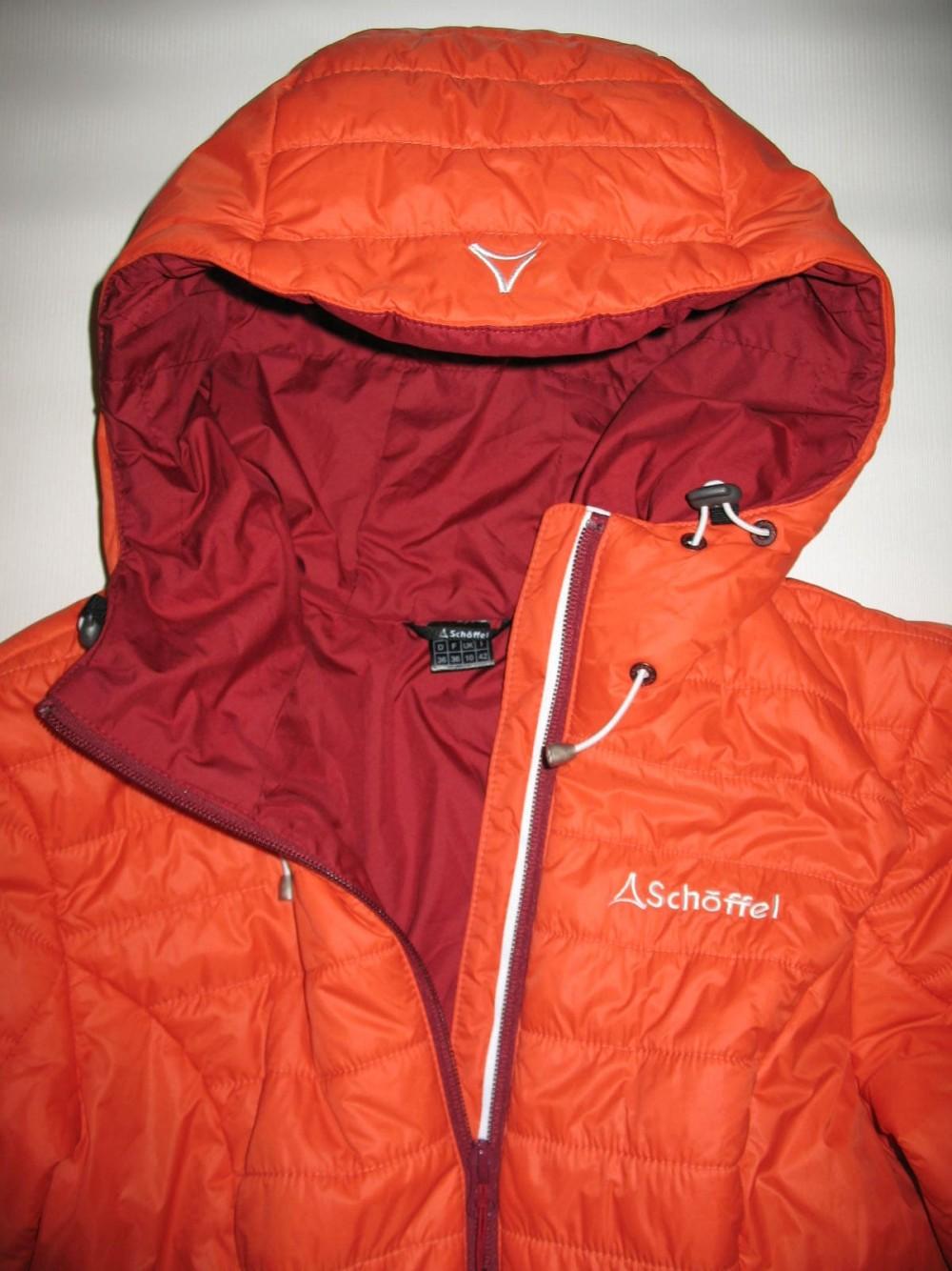 Куртка SCHOFFEL cushy hoody jacket lady (размер 36/S) - 4