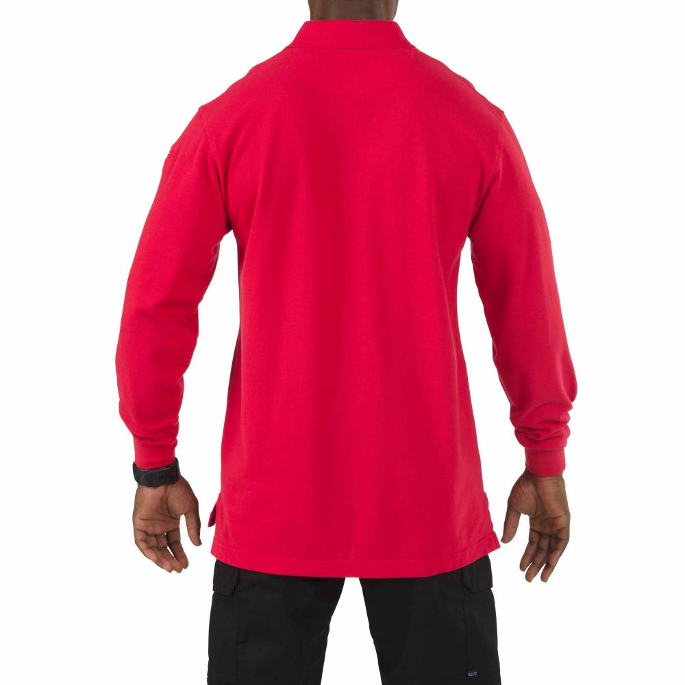 Свитер 5.11 tactical professional long sleeve polo jersey (размер М) - 1