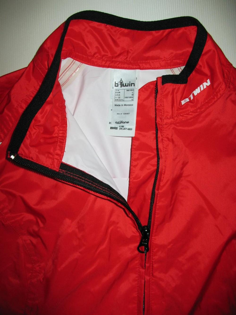 Куртка BTWIN rain cycling jacket (размер L) - 3