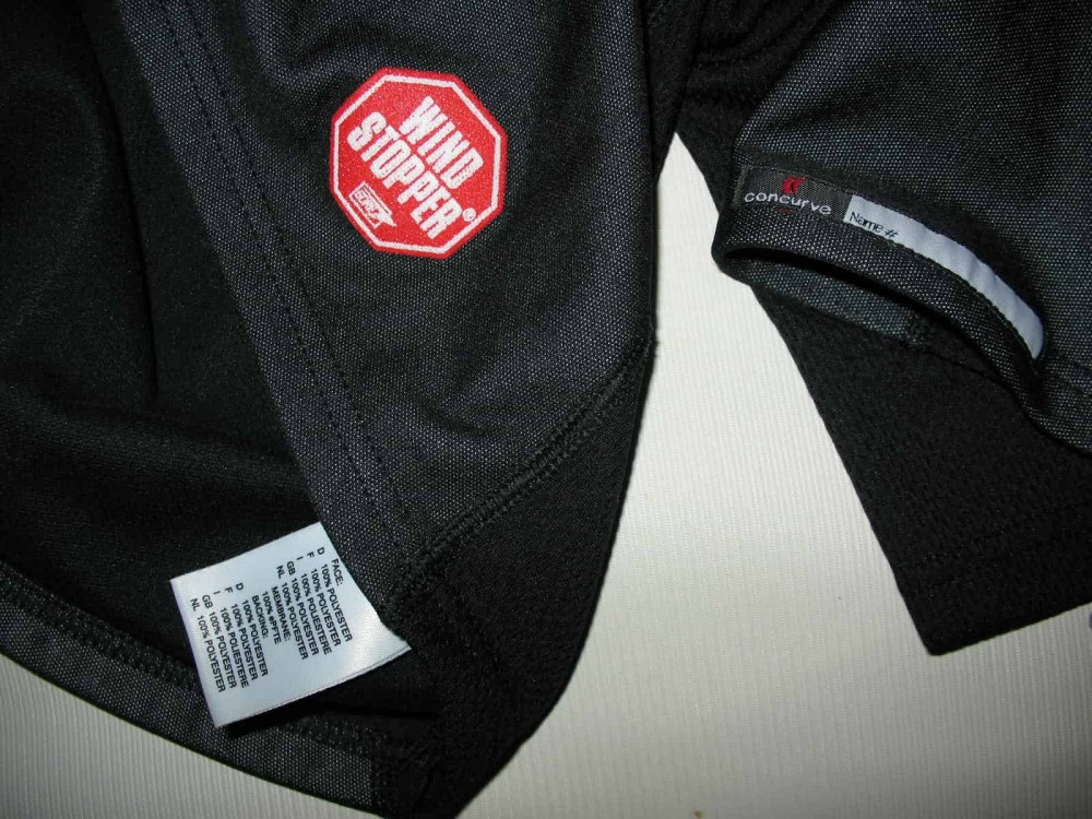 Кофта CONCURVE windstopper jersey (размер XL) - 5
