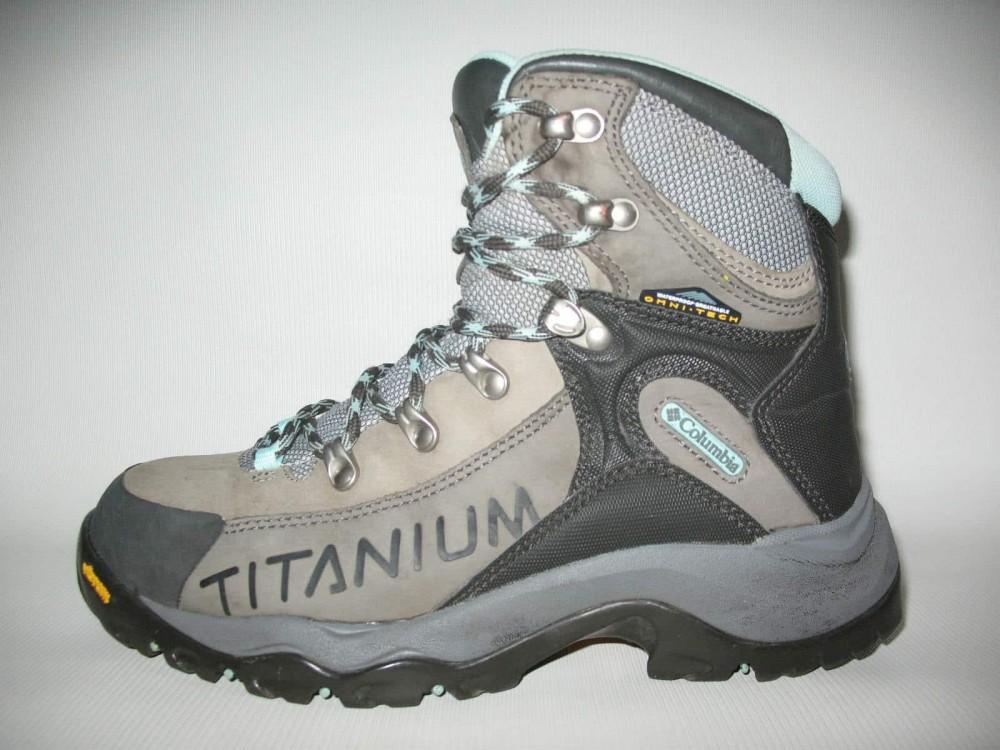 Ботинки COLUMBIA  titanium daska pass boots lady (размер US8/UK6/EU39(на стопу 245 mm)) - 3