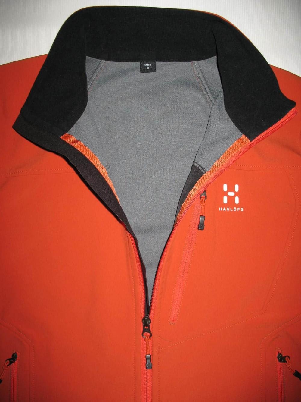 Куртка HAGLOFS softshell windstopper jacket (размер S/M) - 3