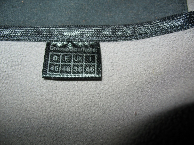 Кофта  SCHOFFEL  softshell  (размер 46-S/M) - 8