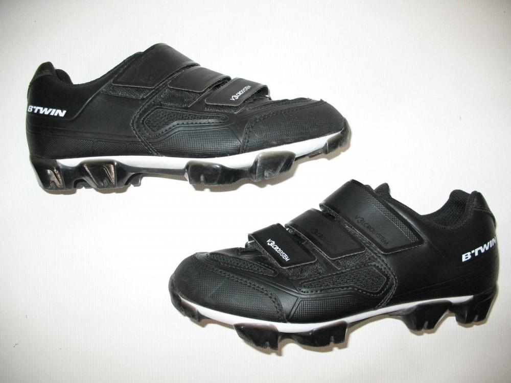 Велотуфли B'TWIN 500 mtb shoes (размер UK5,5/US6/EU39(на стопу до 245 mm)) - 3
