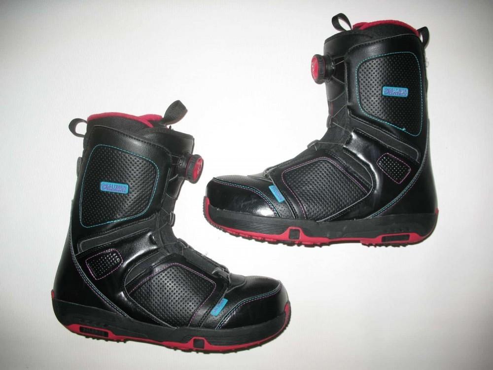 Ботинки SALOMON pearl boa snowboard boots (размер US10/UK8,5/EU42,5(на стопу до 270mm)) - 2