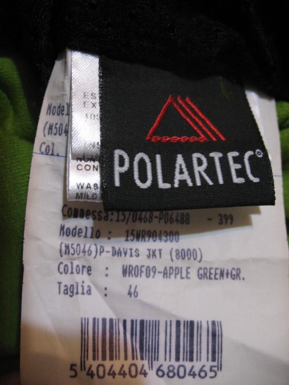 Кофта WILDROSES fleece polartec jacket lady (размер M) - 9