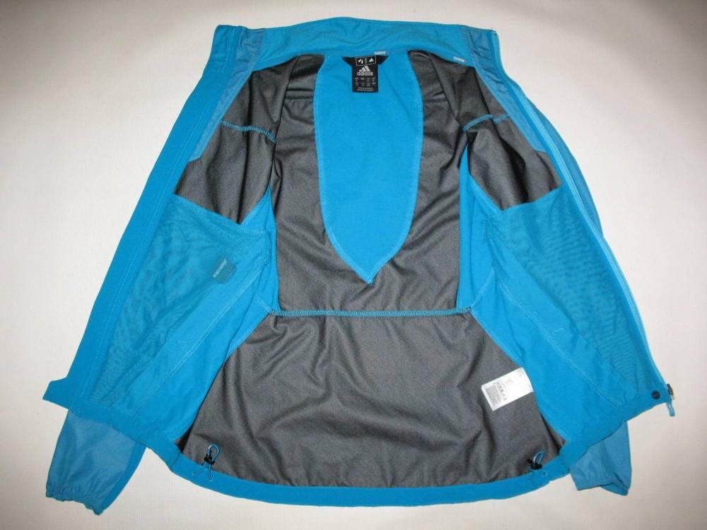 Куртка ADIDAS terrex hybrid windstopper jacket lady (размер 12-L/M) - 5
