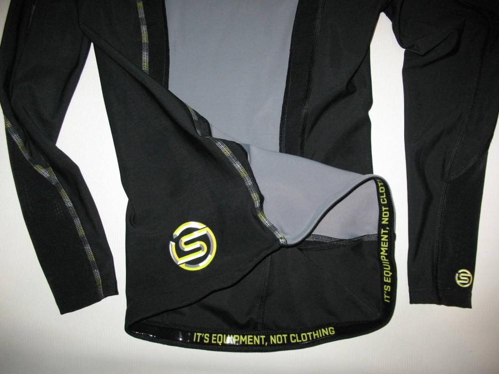 Футболка SKINS DNAmic compression long sleeve top lady (размер M) - 4