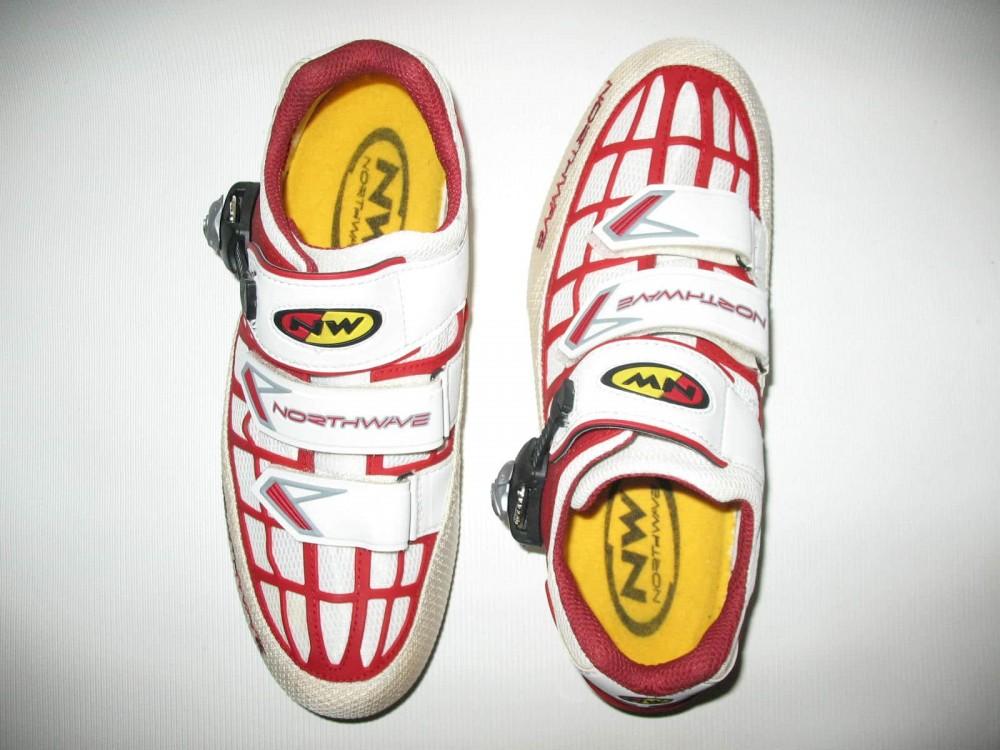 Велотуфли NORTHWAVE revenge road shoes (размер EU41(на стопу до 260 mm)) - 4