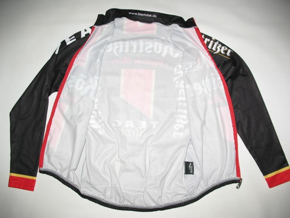 Велокофта BIEMME kostriser fleece cycling jacket (размер М) - 3