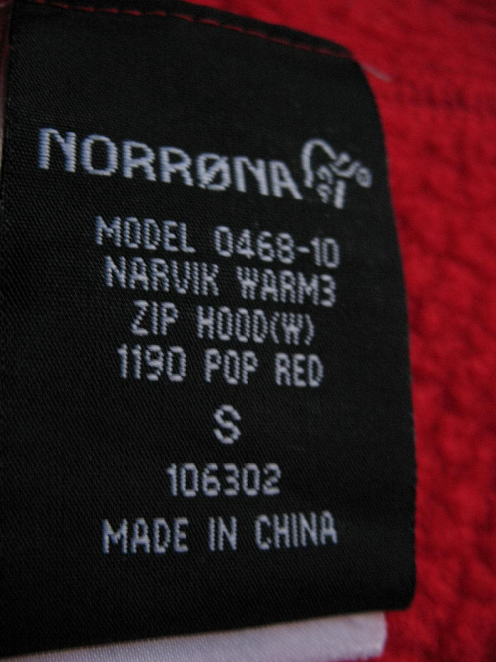 Куртка NORRONA narvik warm 3 hoodies lady (размер S) - 8