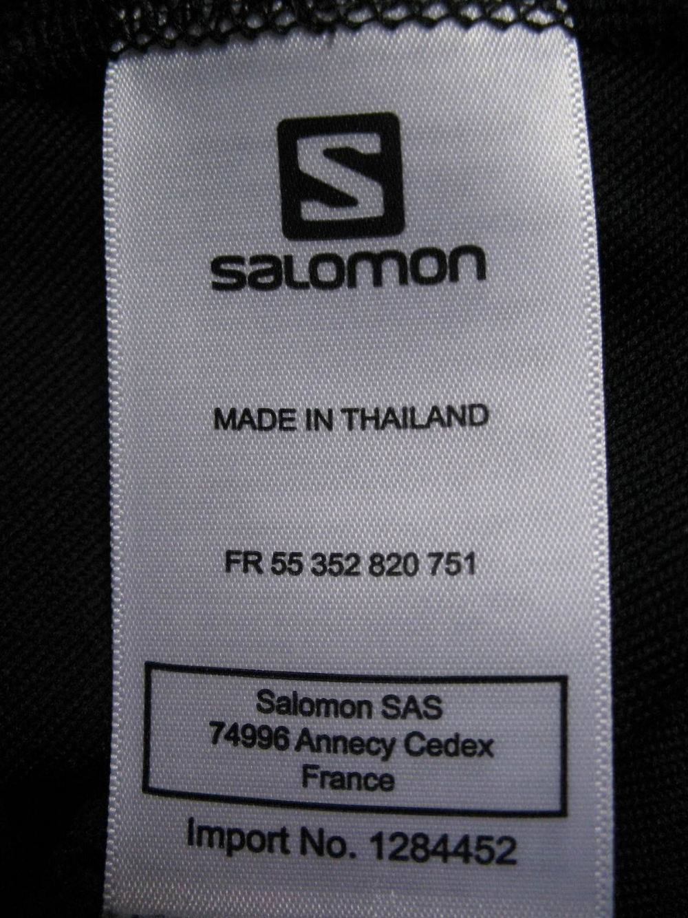 Толстовка SALOMON Trail Runner Warm LS Zip jersey (размер M) - 6