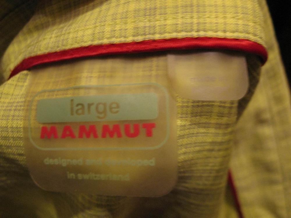 Рубашка MAMMUT belluno shirts (размер L) - 7