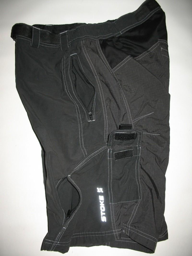 Шорты STOKE bike shorts  (размер M) - 6