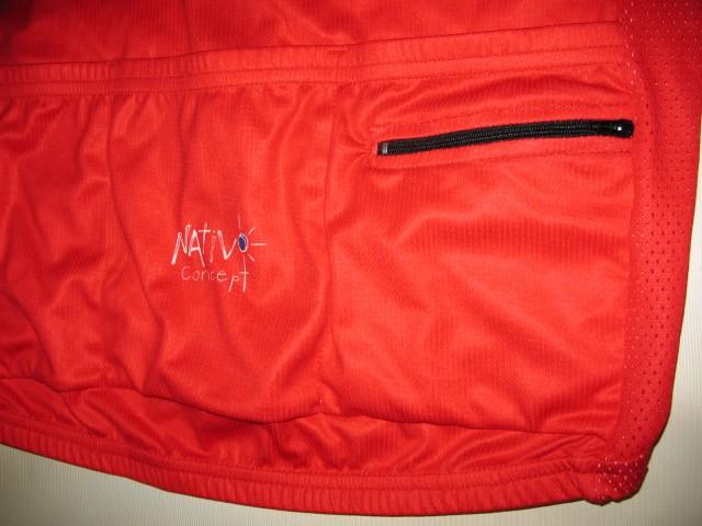 Веломайка NATIVOconcept montreal canadiens cycling jersey (размер L) - 2