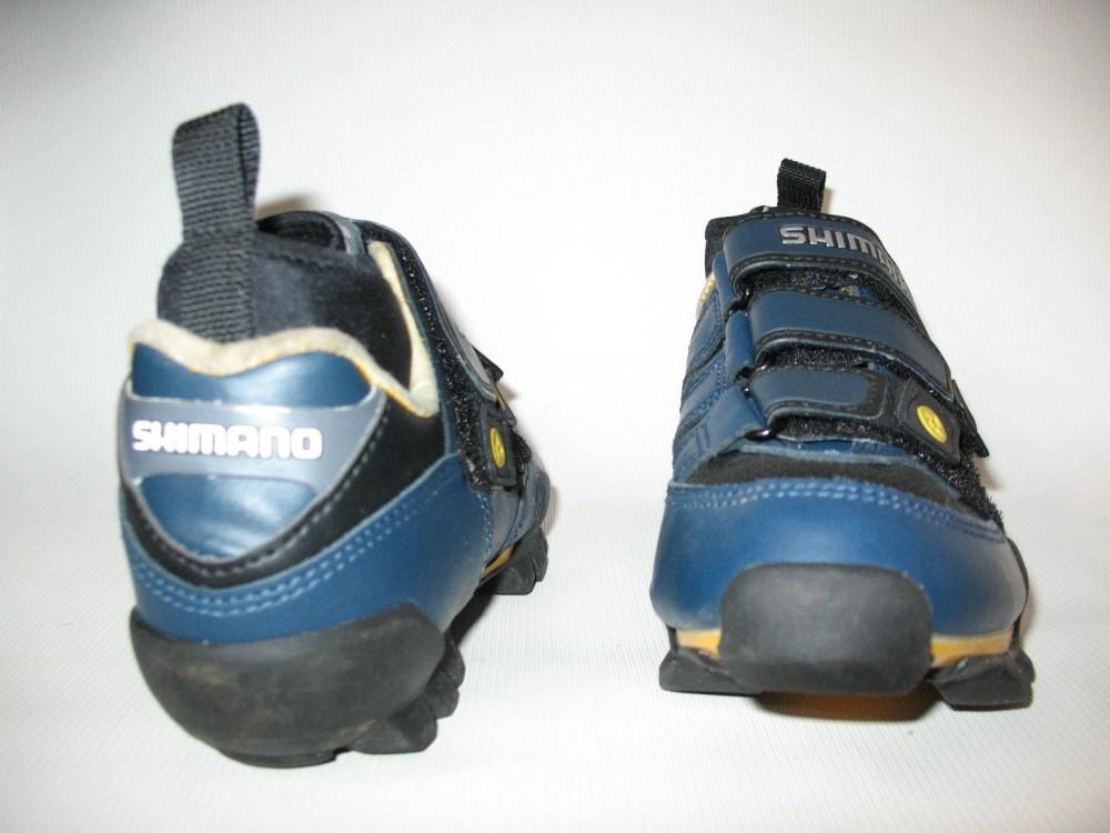 Велотуфли SHIMANO SH-M150 mtb shoes (размер UK5,5/EU38,5(на стопу до 240 mm)) - 4