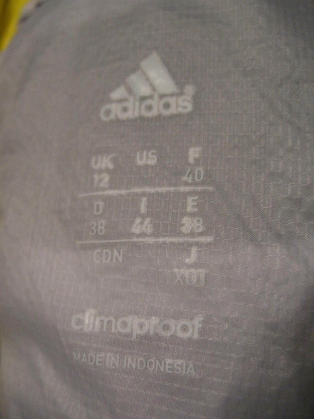 Куртка ADIDAS Adizero Climaproof jacket lady (размер M) - 10