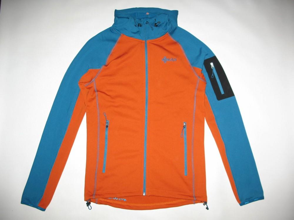 Кофта KILPI yoho-m fleece hoodies jacket (размер S) - 3