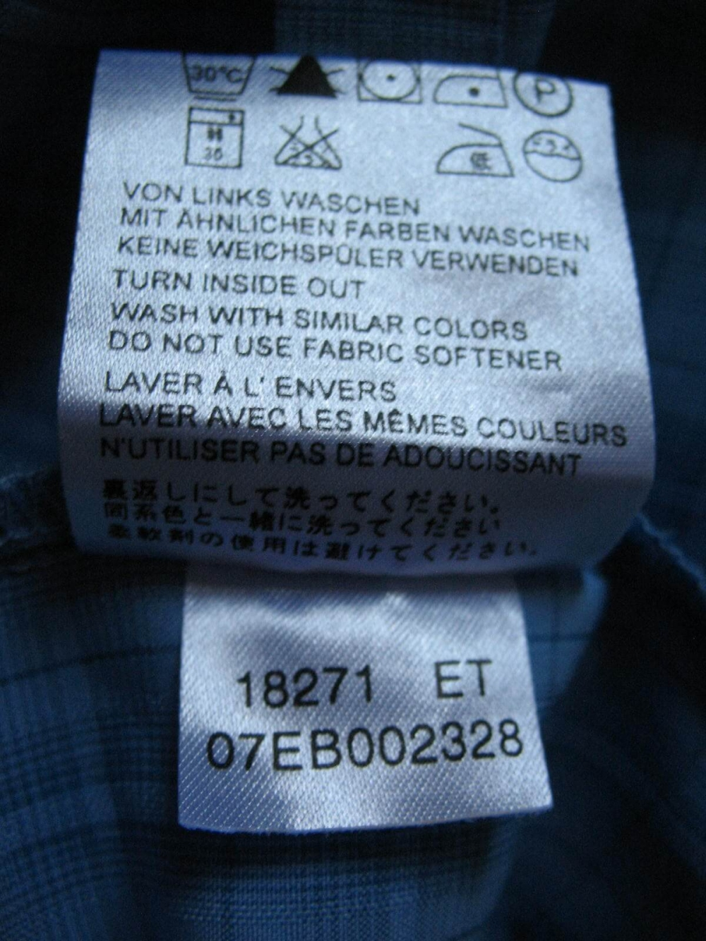 Рубашка JACK WOLFSKIN outdoor shirt lady (размер M/L) - 7