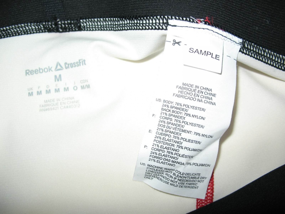 Штаны REEBOK crossFit PWR5 compression training tight leggings (размер M/S) - 11
