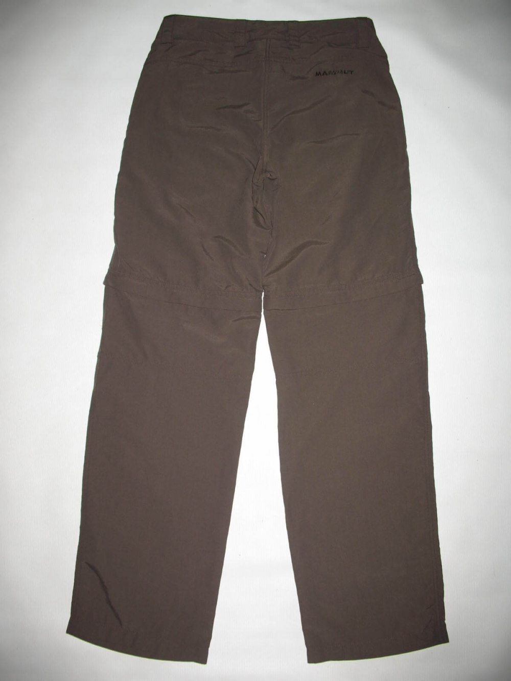 Штаны MAMMUT Zip Off brown pants lady (размер S/XS) - 2