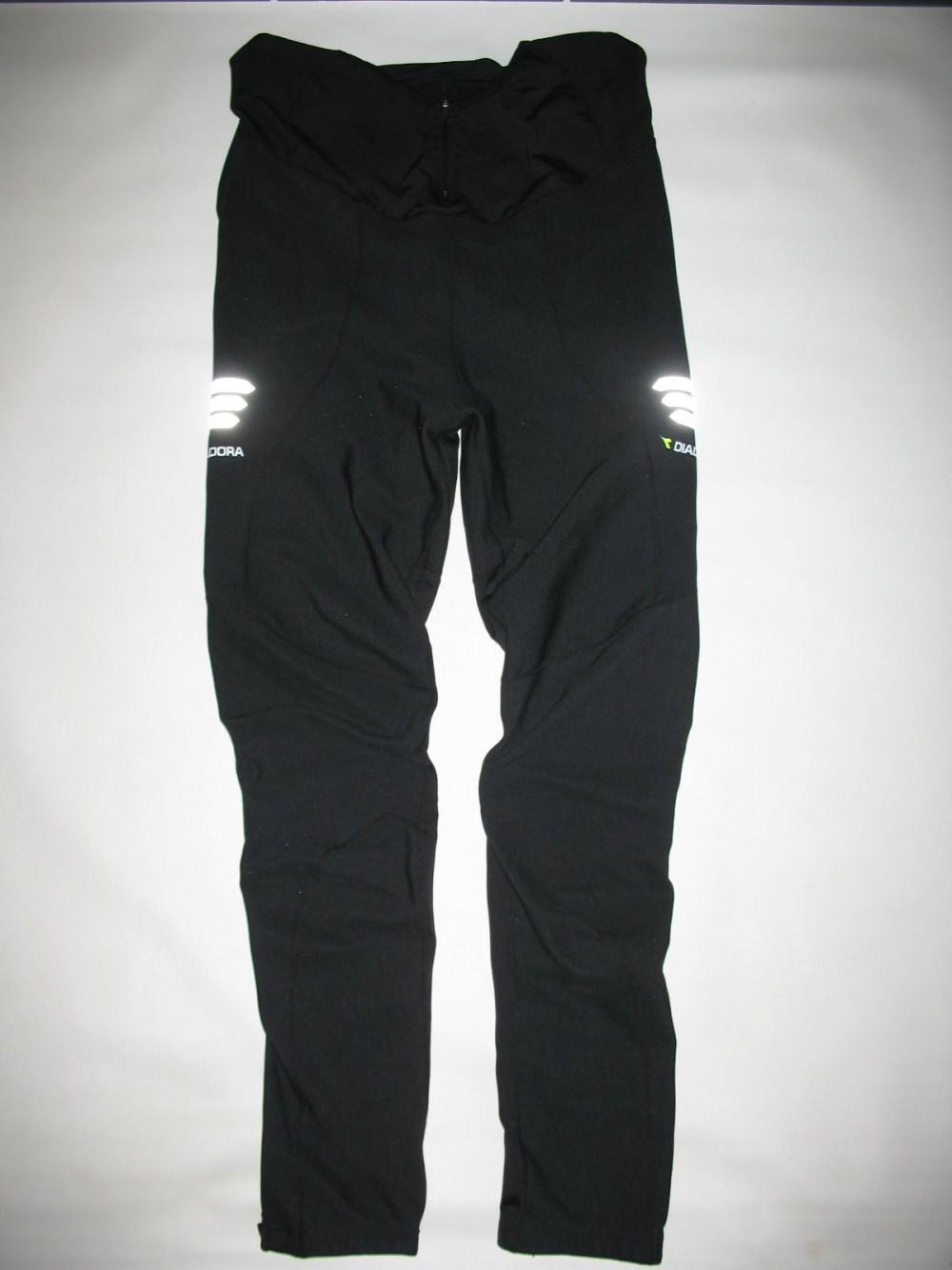 Велобрюки DIADORA cycling windstopper bib pants(размер XL/реально L) - 1