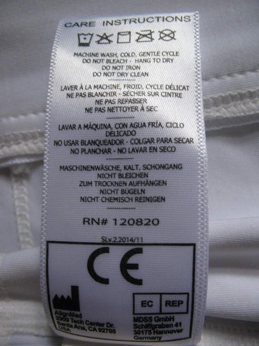 Футболка ALIGNMED posture shirt lady (размер XS) - 8