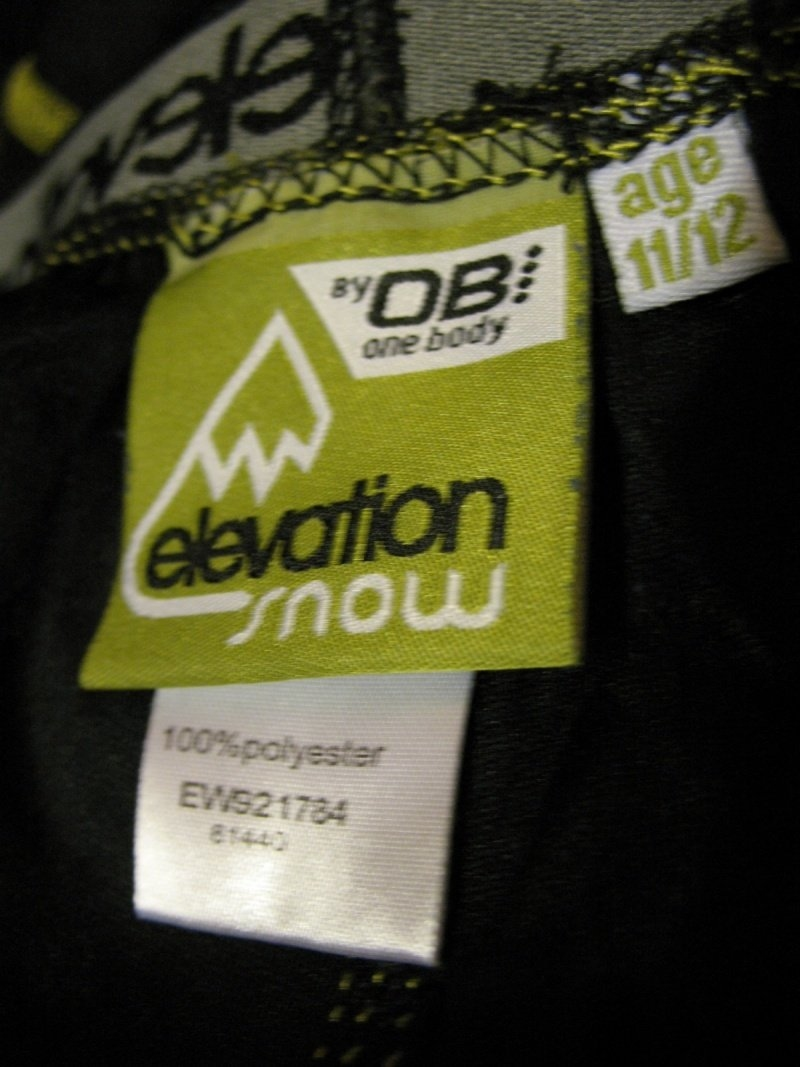 Термобелье OB elevation snow (размер XS(S)) - 3