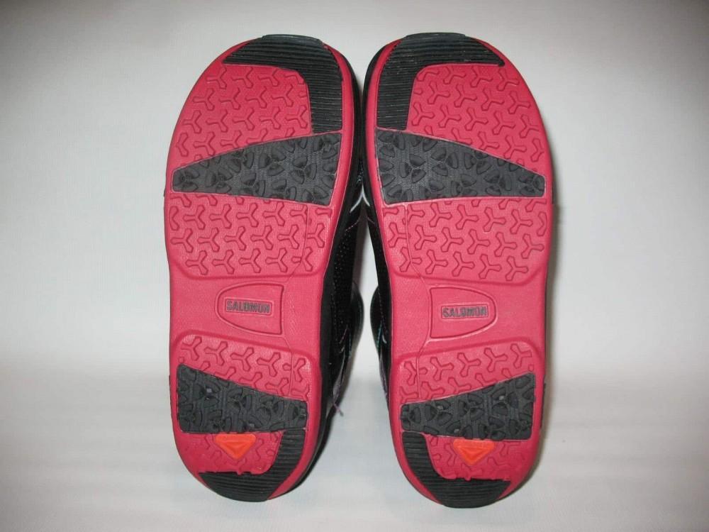Ботинки SALOMON pearl boa snowboard boots (размер US10/UK8,5/EU42,5(на стопу до 270mm)) - 5