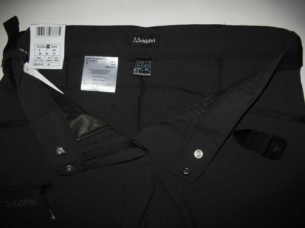 Штаны SCHOFFEL cartagena outdoor pants lady (размер 38-М) - 11