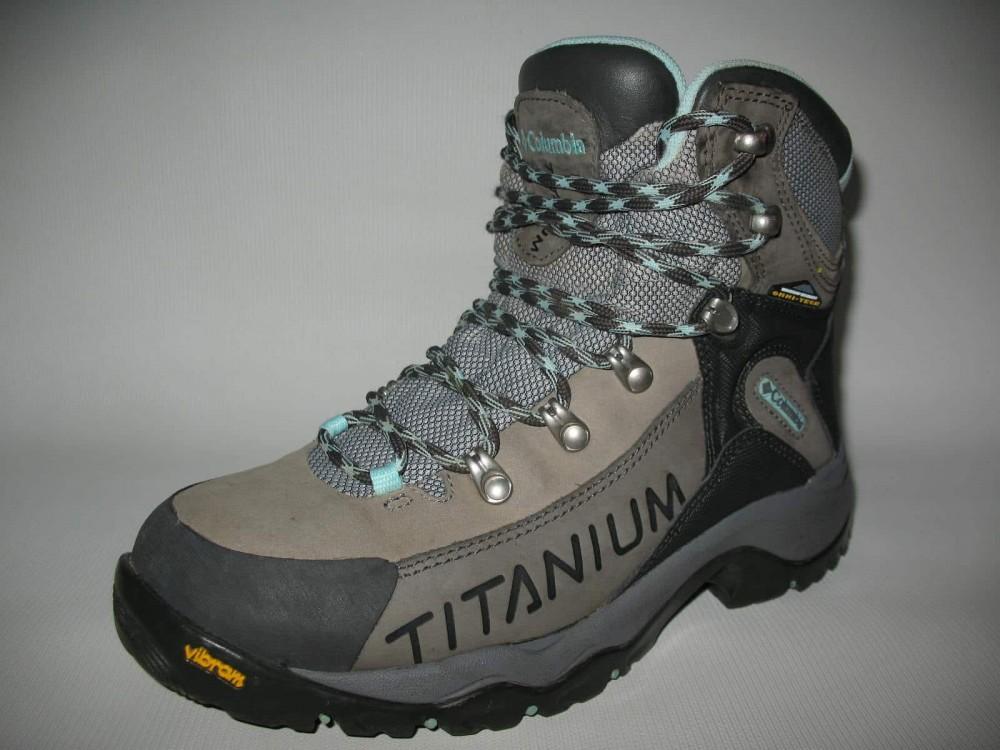 Ботинки COLUMBIA  titanium daska pass boots lady (размер US8/UK6/EU39(на стопу 245 mm)) - 4