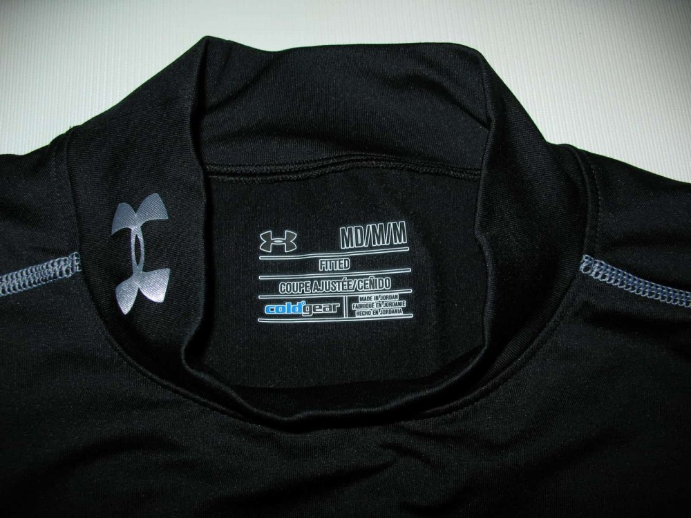 Рашгард UNDER ARMOUR coldgear evo fitted mock (размер M) - 4
