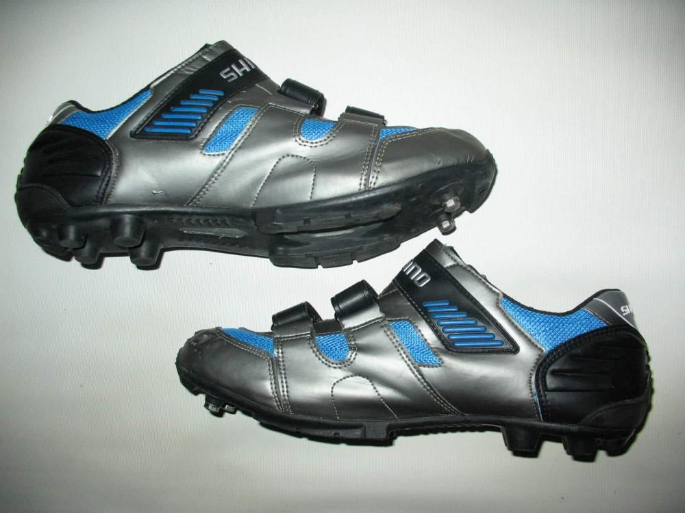 Велотуфли SHIMANO sh-m180g mtb bike shoes (размер UK12,5/EU47(на стопу до 298 mm)) - 4