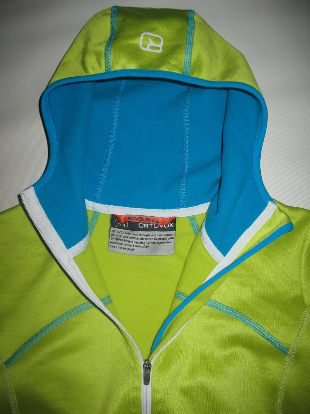 Кофта ORTOVOX merino fleece hoodies lady (размер S) - 5