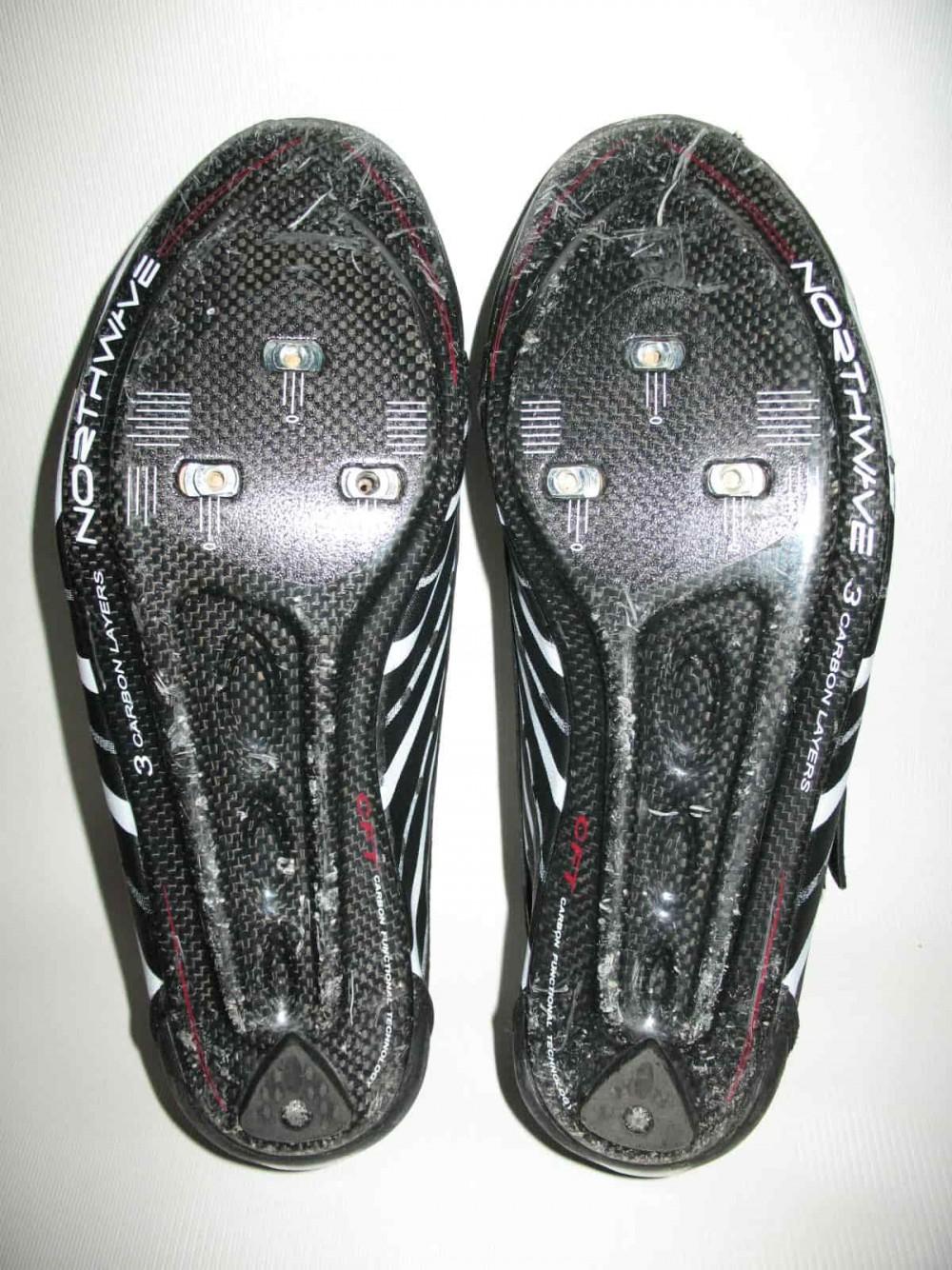 Велотуфли NORTHWAVE revenge road shoes (размер US9,5/UK8,5/EU42(на стопу до 270 mm)) - 7