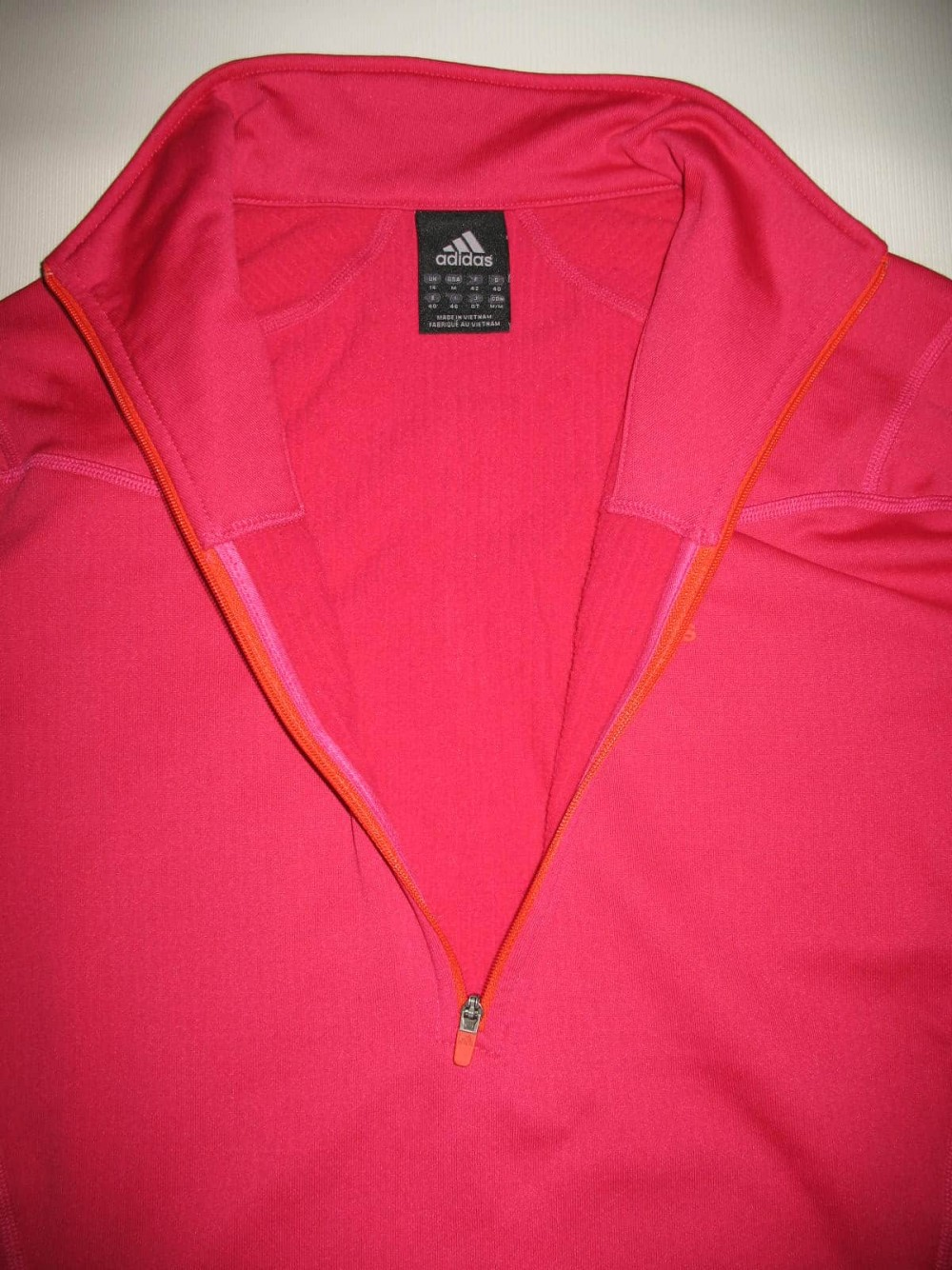 Кофта ADIDAS terrex fleece jersey lady (размер M/L) - 2