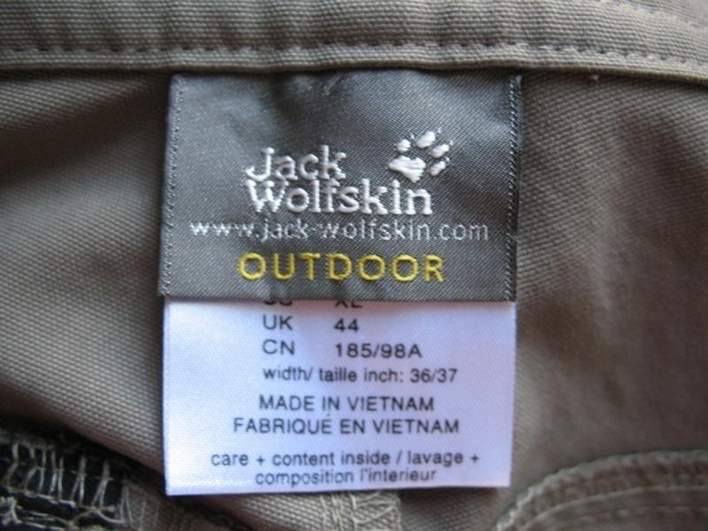 Шорты JACK WOLFSKIN rock shorts (размер 54-XL/XXL) - 11