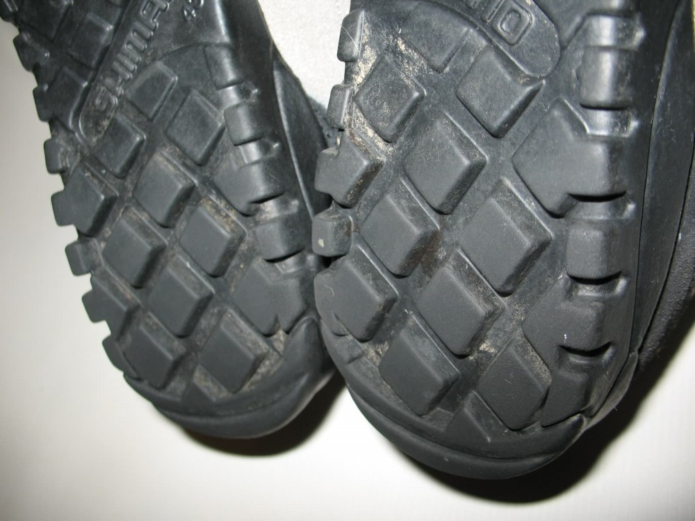 Велотуфли SHIMANO sh-m038 MTB shoes (размер US9;EU43(на стопу до 272 mm)) - 6