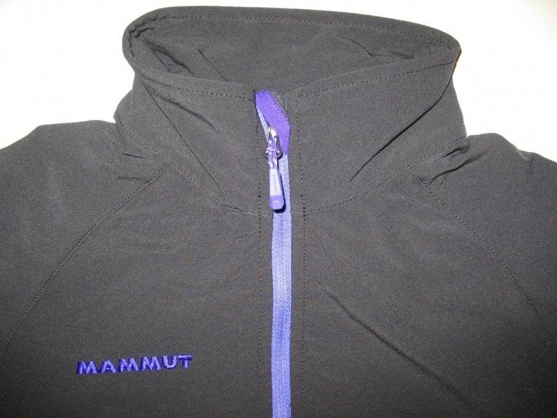Кофта MAMMUT rundle softshell jacket lady  (размер M) - 3