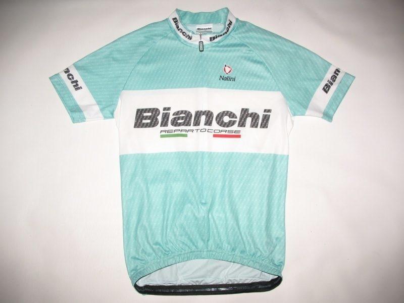 Футболка  NALINI Bianchi Team Carbon Jersey  (размер M) - 1