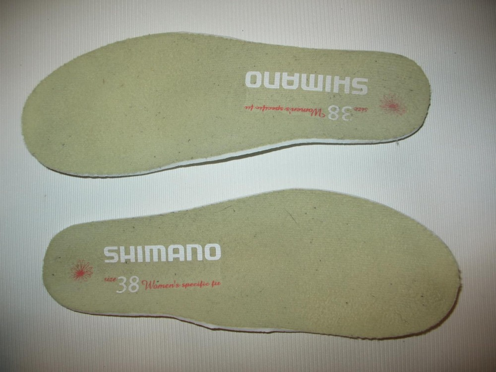 Велотуфли SHIMANO sh-wm 40 mtb shoes lady (размер US6.5/EU38(на стопу 238 mm)) - 10