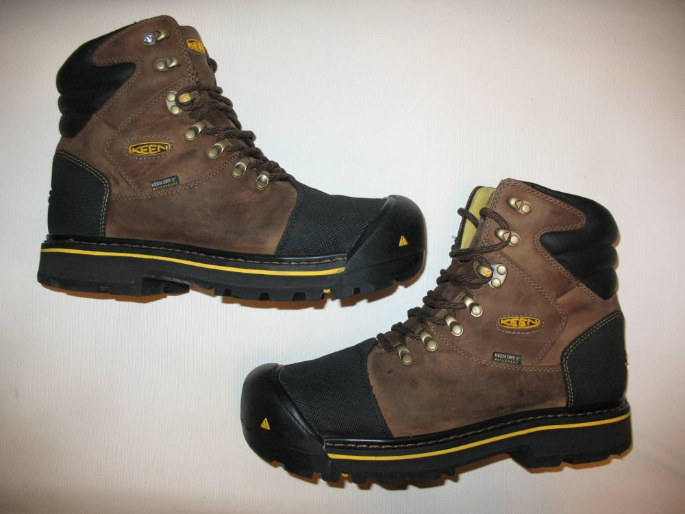 Ботинки KEEN milwaukee waterproof boots (размер US8/UK7/EU41(на стопу 260 mm)) - 5