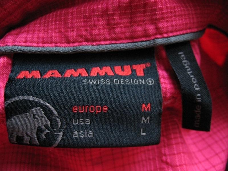 Рубашка MAMMUT Alessandria long shirt (размер M) - 6