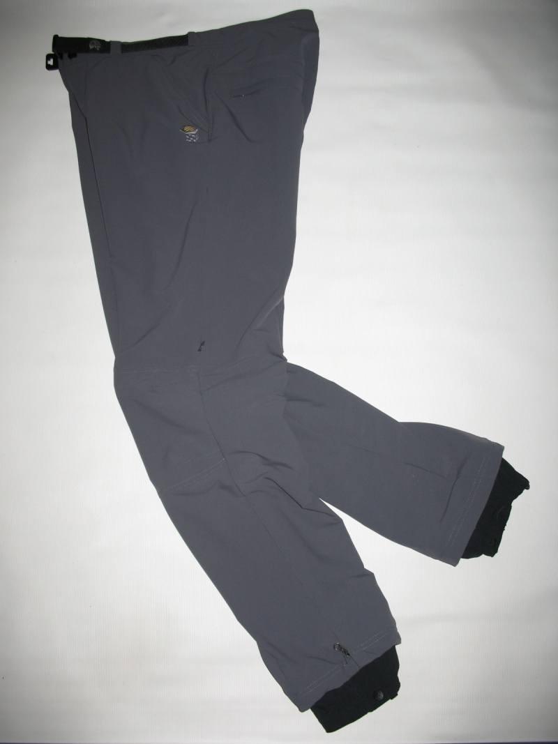 Штаны MOUNTAIN HARDWEAR Navigation softshell pants (размер M) - 6