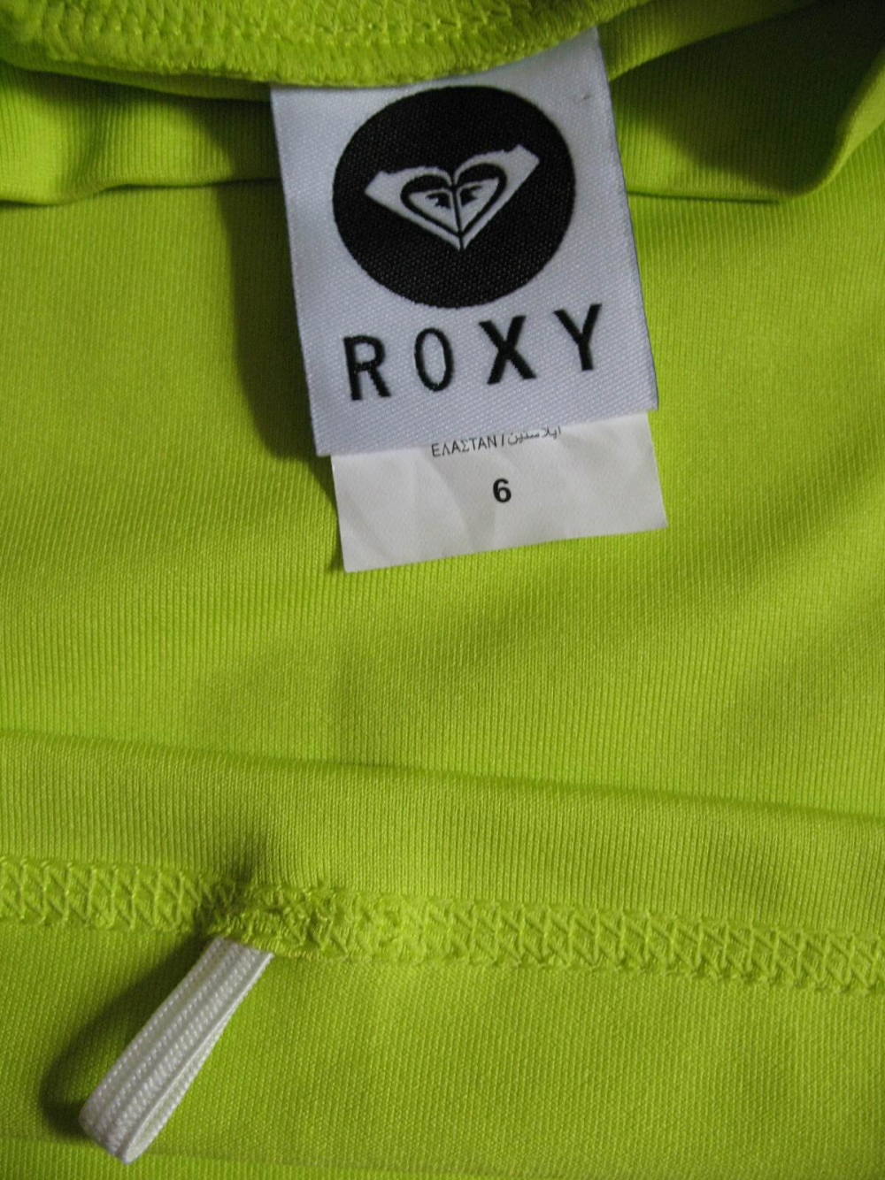 Футболка ROXY surf shirt lady (размер 6-S) - 2