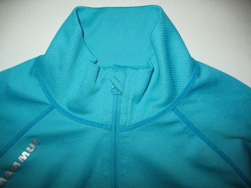 Футболка  MAMMUT Zip Longsleeve all-year lady (размер S) - 3