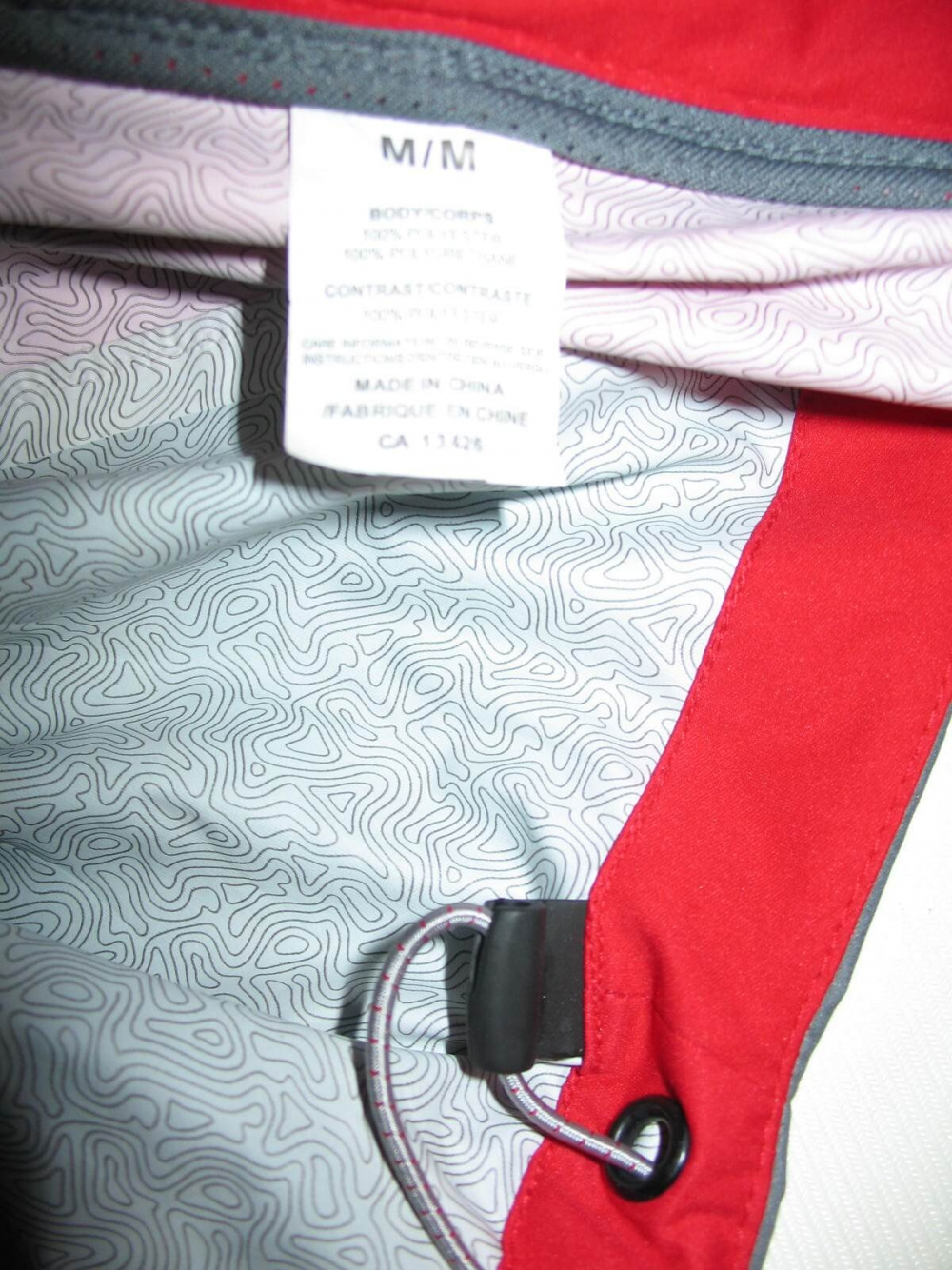 Куртка SUGOI waterproof light bike/run jacket (размер M) - 8