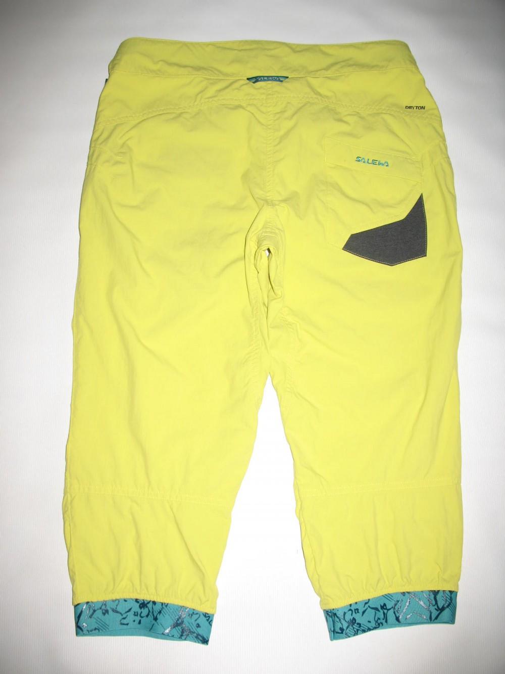 Штаны SALEWA rhytmo dry 3/4 pant lady (размер М) - 2
